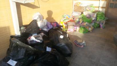 ۵۰۰ بسته بهداشتی و غذایی بین نیازمندان کردستان توزیع شد