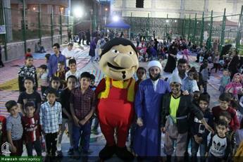 تصاویر شما/ فعالیت های فرهنگی طلاب ویژه ماه مبارک رمضان  در پارک های شرق تهران