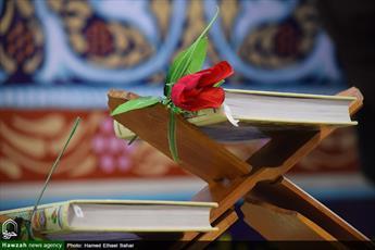 برگزاری محفل انس با قرآن در مسجد اعظم اهواز