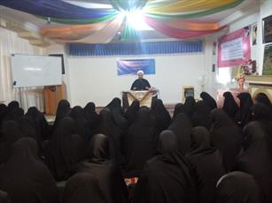 بازدید مدیر حوزه  خواهران گیلان از مدرسه زینبیه(س)