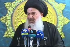 فیلم/ دو مشکل اساسی حکومت عراق از نگاه امام جمعه بغداد