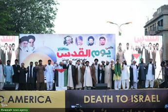 تصاویر/ راهپیمایی روز جهانی قدس در شهرهای مختلف پاکستان