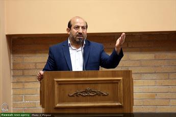 فیلم/ مدیر دارالقرآن علامه طباطبایی: ايران اسلامى سبب خوارى آمريكا شده است