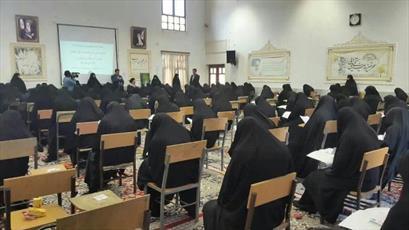 آزمون پذیرش حوزه های علمیه خواهران در استان گلستان برگزار شد