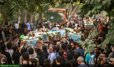 میهمانی تازه داریم... / ورود پیکر مطهر ۱۶۷ شهید دفاع مقدس به ایران
