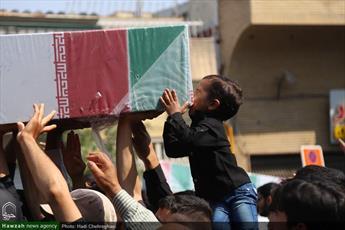 پیکر ۴ شهید گمنام در استان کردستان به خاک سپرده میشود