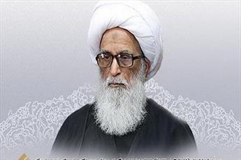 آية الله بشير النجفي يعزي بوفاة آية الله السيد محمد مهدي الموسوي الخلخالي