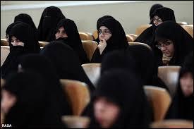 بانوان لرستانی  مکالمه عربی را فرا می گیرند