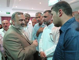 رئیس سازمان حج و زیارت برای بررسی وضعیت زائران ایرانی وارد مکه شد