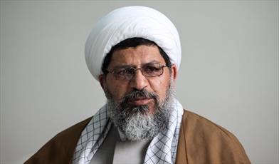 حجتالاسلام و المسلمین علی شیرازی نماینده ولی فقیه در سپاه قدس،