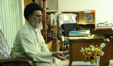 حجت الاسلام و المسلمین سید جعفر کشفی، مدیر موزه آستانه مقدس حضرت معصومه(س)