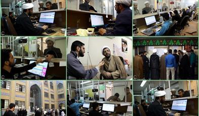 مراجعه روزانه ۸۰۰ نفر از طلاب برای دریافت  مجوز حضور در اربعین - حجت الاسلام مصطفی محمدی نژاد