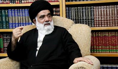 حجت الاسلام والمسلمین میرتقی حسینی گرگانی از اساتید اصول و فقه حوزه