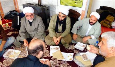 خدمات رسانی حوزه مهران به زائران اربعین