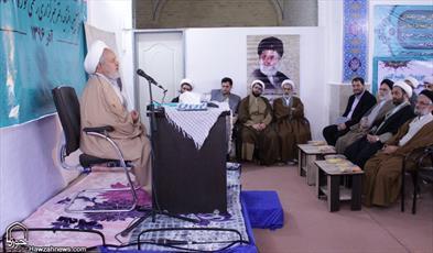 تصاویر/ مراسم افتتاح دفتر خبری خبرگزاری حوزه در سمنان