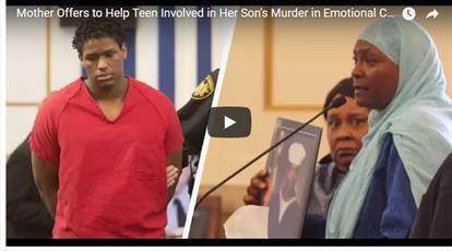 مادر مسلمان آمریکایی، قاتل پسرش را به خاطر اسلام بخشید