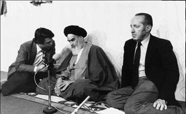 مصاحبه امام خمینی(ره)