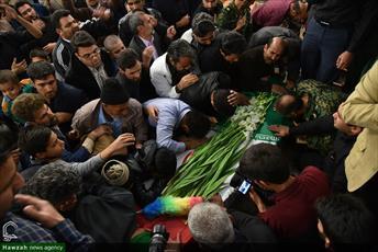 تصاویر/ مراسم تشییع پیکر شهید مدافع حرم مرتضی بصیریپور در بیرجند