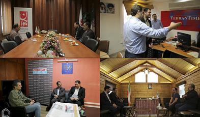 رایزنی سردبیر خبرگزاری حوزه با روزنامه های کشور