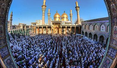 نماز عید فطر در عراق