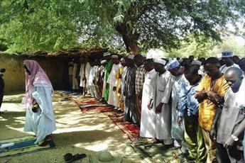 نماز باران شهر آگادیز کشور نیجر