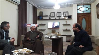 حجت الاسلام مختاری رئیس دانشگاه مذاهب اسلامی