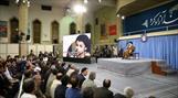 تصاویر/ مراسم شب خاطره دفاع مقدس با حضور رهبر معظم انقلاب