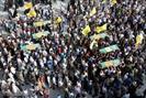 تصاویر/ تشییع پیکر شش شهید مدافع حرم در قم