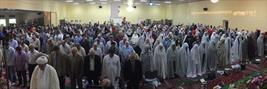 تصاویری از اقامه نماز عید فطر در واشنگتن