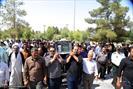 تصاویر/ مراسم تشییع مرحوم ابوشهید حجت الاسلام والمسلمین کیائی نژاد
