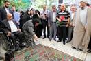 مراسم بزرگداشت طلبه  شهید کمال کورسل در قم برگزار شد+ تصاویر