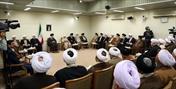 تصاویر/ دیدار رئیس و اعضای مجلس خبرگان رهبری با رهبر انقلاب