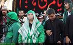 تصاویر/ عزاداران خاص امام حسین (ع) در یزد