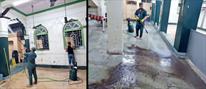 جوانان مسلمان هندی هر هفته یک مسجد را تمیز  و زیباسازی می کنند