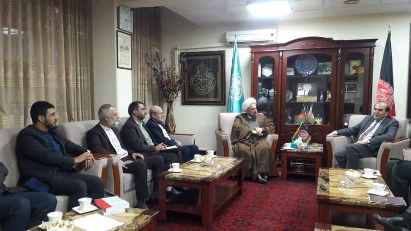 سفر دکتر مختاری به افغانستان