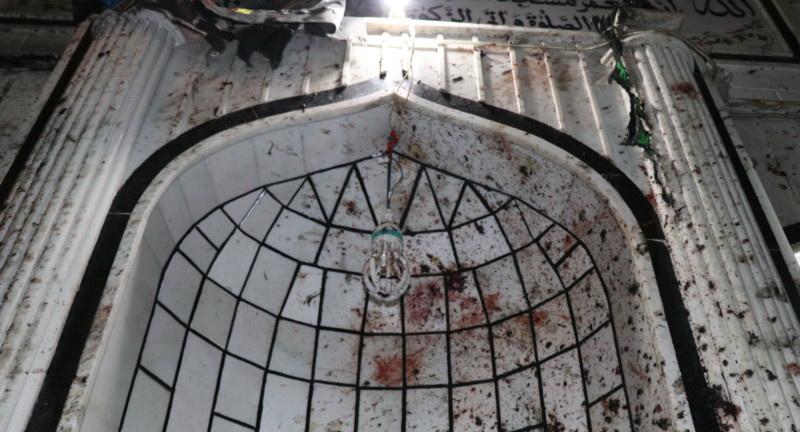 انفجار تروریستی مسجد امام زمان کابل