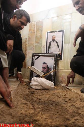 تشییع و خاکسپاری پیکر حجت الاسلام والمسلمین مهندسی