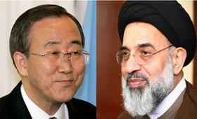 نامه تشکر دبیرکل سازمان ملل از روحانی شیعه + سند