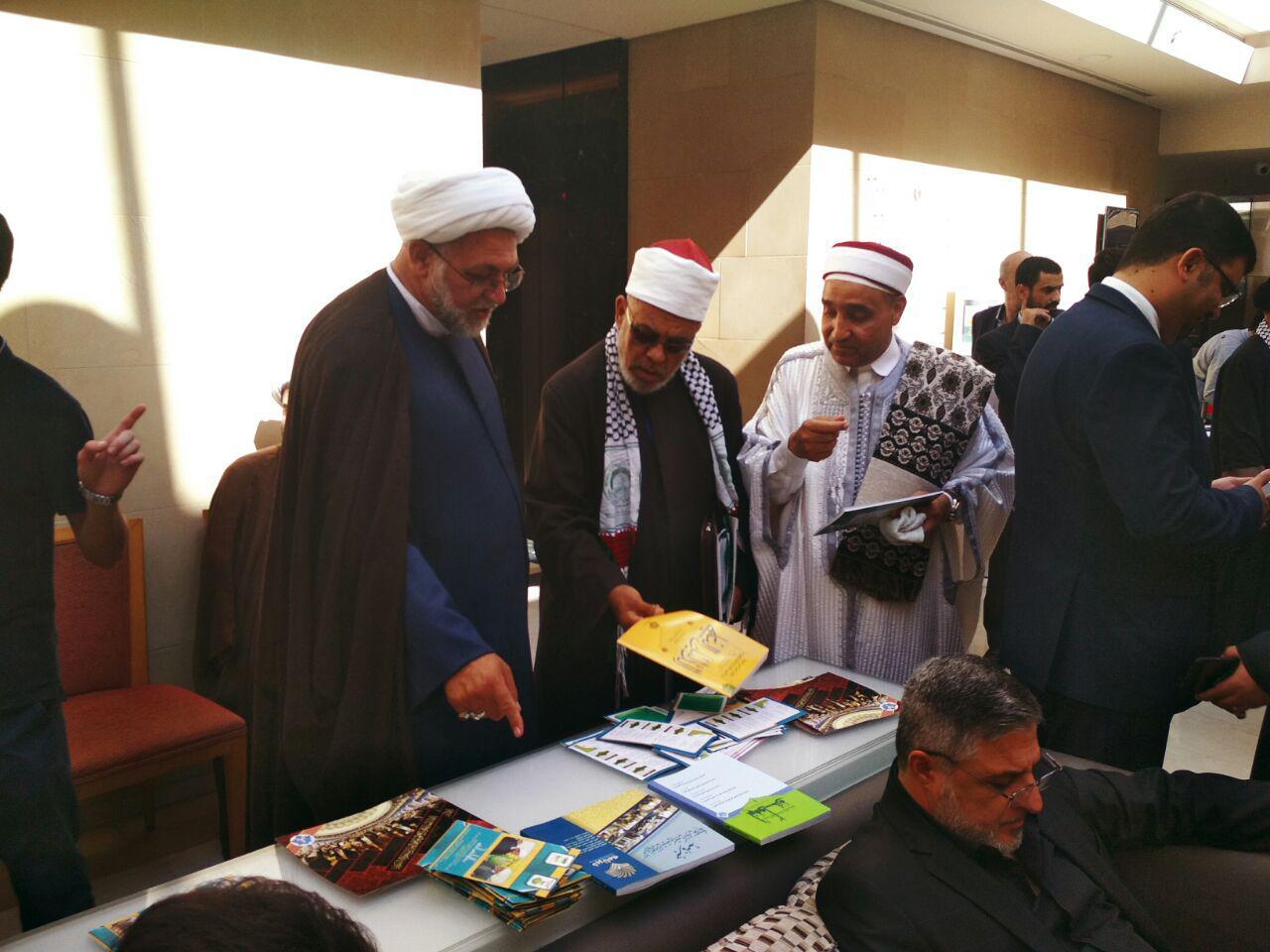 استقبال علمای جهان اسلام از محصولات ضدتکفیری+ تصاویر