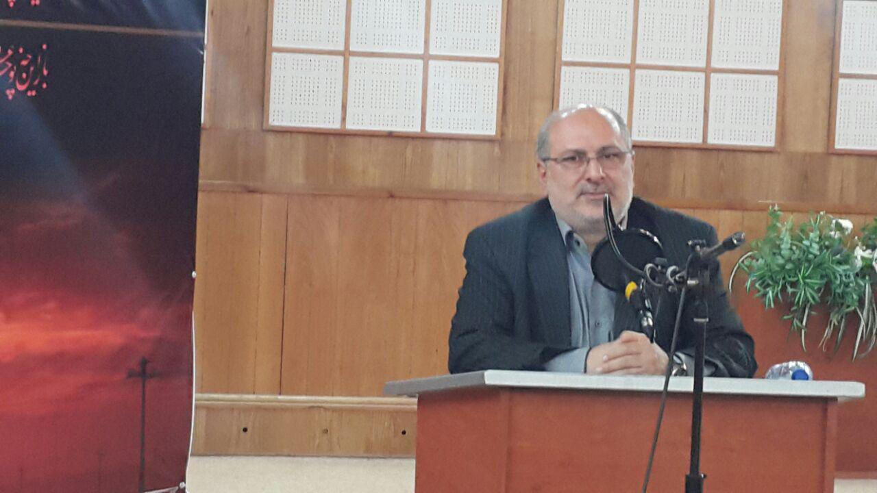 دکتر رمضانی گل افزانی رییس مرکز مطالعات فلسطین ریاست جمهوری