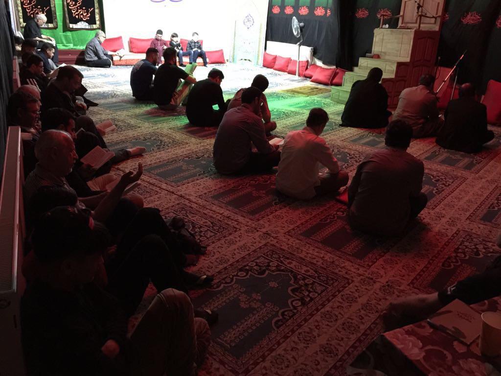 مراسم شب اول قدر در بنیاد اهل بیت بلژیک