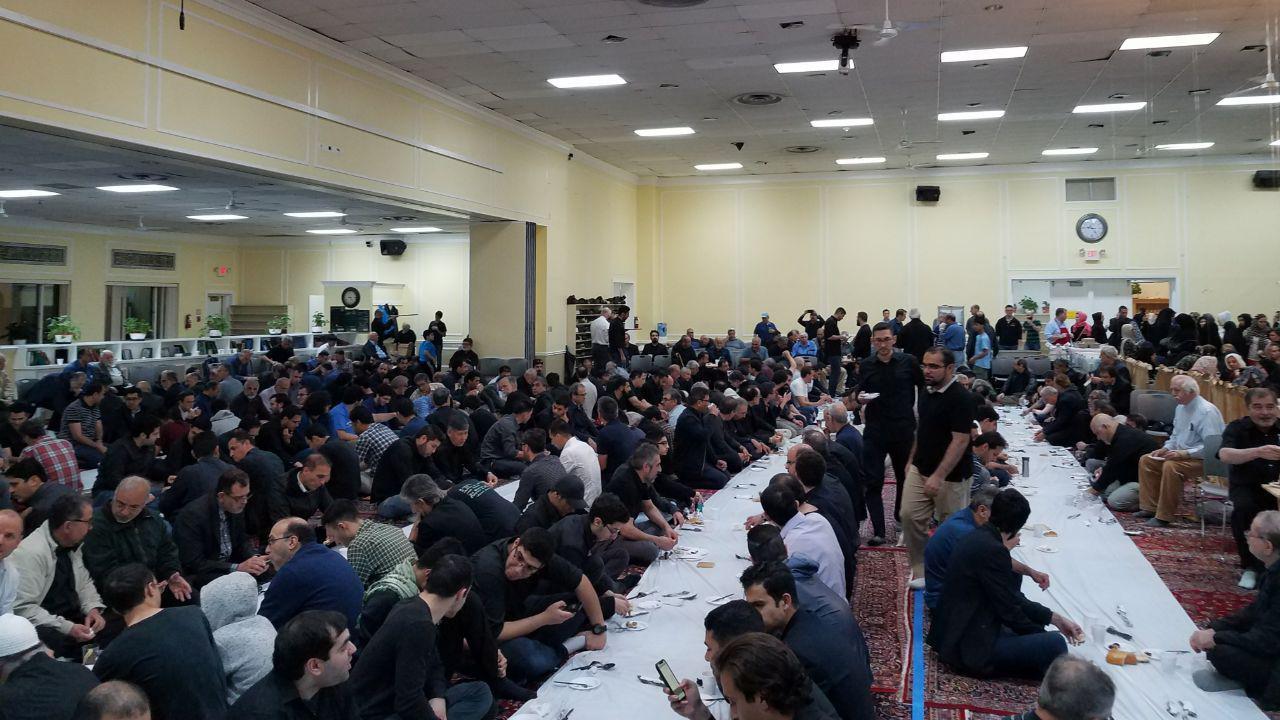 احیاء شب قدر در مرکز اسلامی واشنگتن