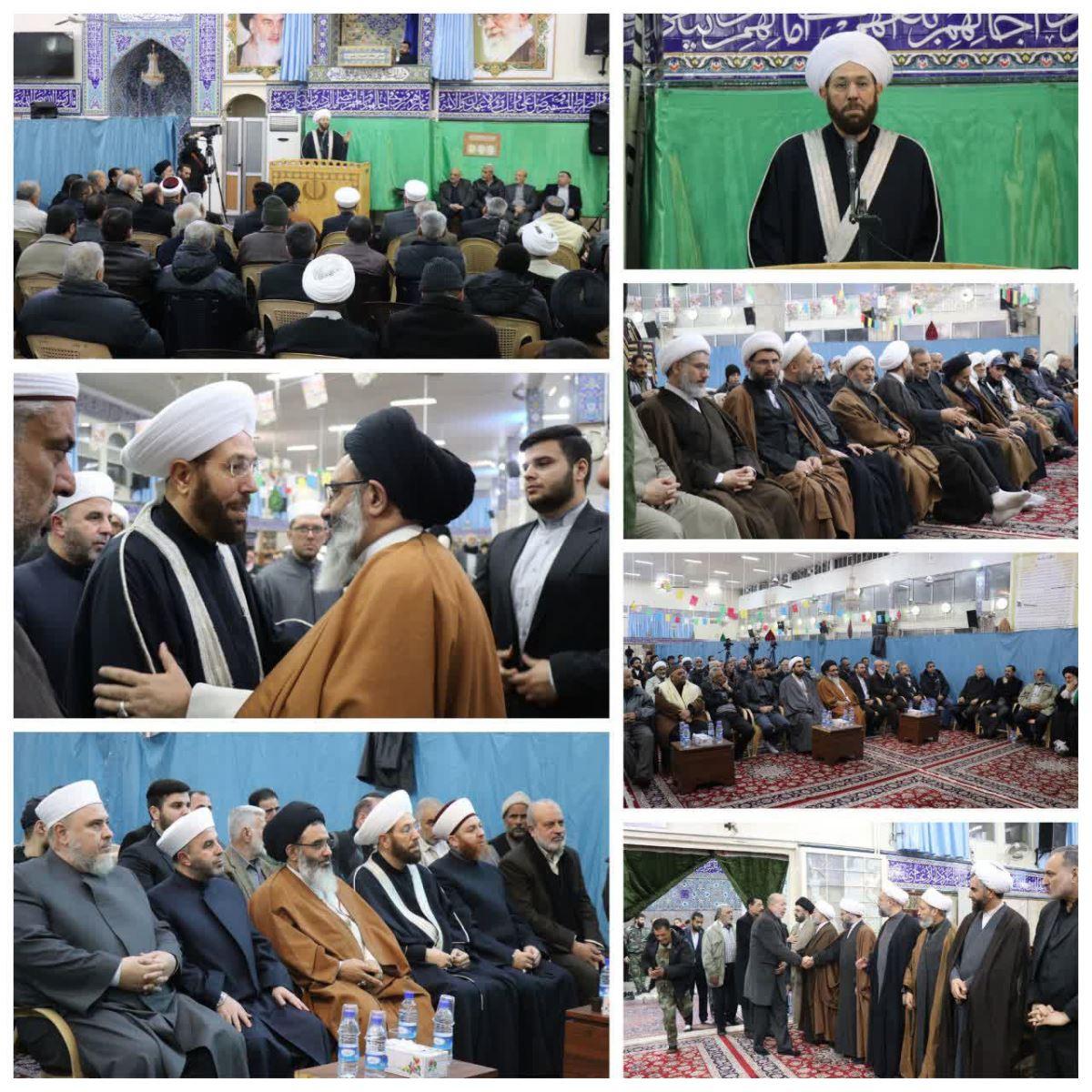 مجلس ترحیم آیت الله شاهرودی در سوریه