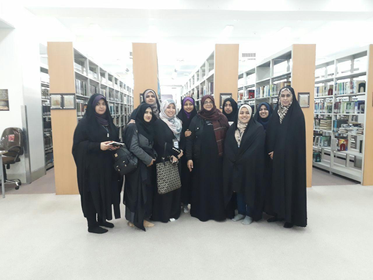 کتابخانه جامعه الزهرا(